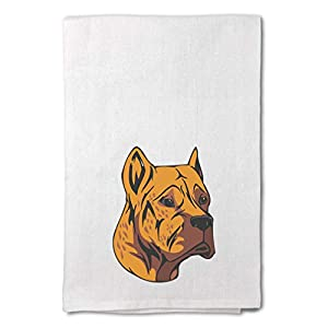 Style In Print Custom Decor Flour Kitchen Towels Alano Espanol Head Pets Dogs Cleaning Supplies Dish Towels Design Only 36