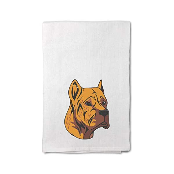 Style In Print Custom Decor Flour Kitchen Towels Alano Espanol Head Pets Dogs Cleaning Supplies Dish Towels Design Only 1