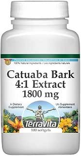 Extra Strength Catuaba Bark 4:1 Extract - 450 mg (100 Capsules, ZIN: 511095)