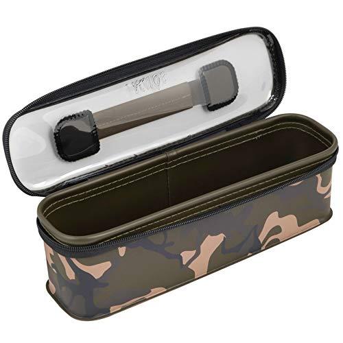 Fox Aquos Camolite Accessory Bag Large 31,5x9,5x7cm - Angeltasche für Zubehör, Tackletasche für Kleinteile, Zubehörtasche zum Angeln auf Karpfen