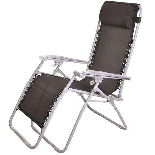 Hamble Distribution ltd Textoline Chaise de Jardin inclinable