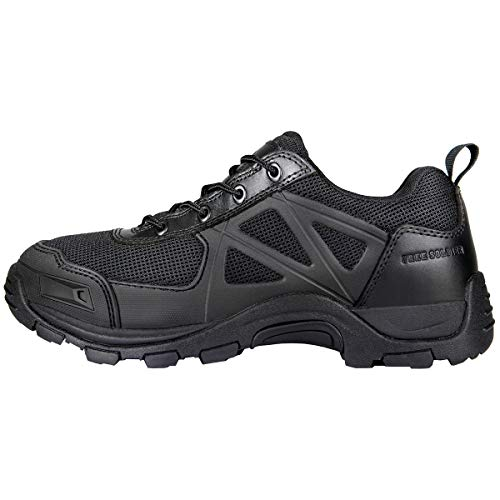 FREE SOLDIER Tactical Desert Chaussures Rapid Antidérapantes Camping Randonnée Mountain All Terrain Chaussures Off-Road Homme Noir 41