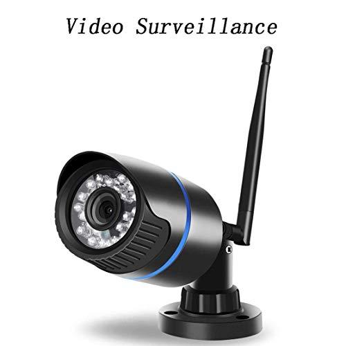 WYJW WiFi-Überwachungskamera im Freien wasserdichte IP-Kamera 1080P HD-Überwachungskamera IR-Nachtsicht-Bewegungserkennungsunterstützung FTP 128G-Fernalarmaufzeichnung für Innen/Außen