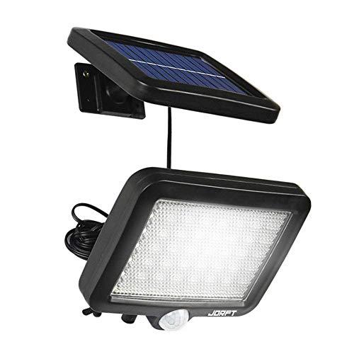 Lsmaa Solar-Sicherheits-Leuchten, 56 Solar LED-Lampe Mensch/Licht-Sensor-Wasserdicht Bright Lights for Garten, Zaun, Treppen, Hof oder Auffahrt Nutzung