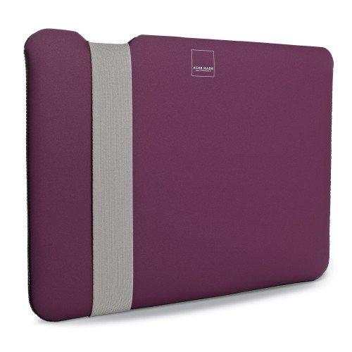 Acme Made AM36677-PWW laptoptas 27,9 cm (11 inch) grijs roze - notebooktas (27,9 cm (11 inch), 230 g, grijs, roze)