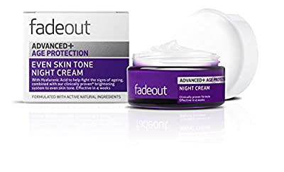 Fade Out Advanced+ Age Protection Even Skin Tone Night Cream, 50 ml