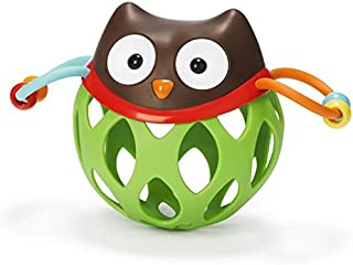 Skip Hop Explore and More Roll Around Rattles Toy, Owl