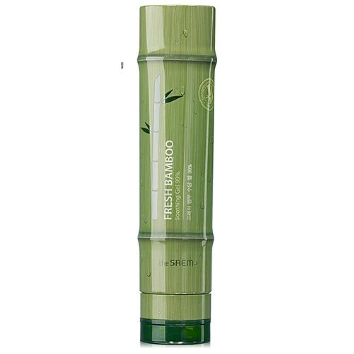 研究所メッセンジャー競合他社選手ドセム フレッシュバンブースージング ジェル 99% 260ml[無料発送]The Saem Fresh Bamboo Soothing Gel 99% 260ml [並行輸入品]