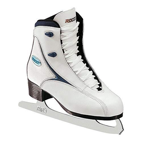 Roces RFG 1, Pattini da ghiaccio da donna, Bianco (White), 38