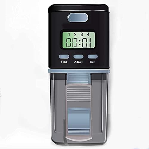 WXking Alimentation Automatique de Poissons, Distributeur d'aliments d'aquarium ou de réservoir de Poisson avec 10 0ML Grande capacité pour Les Vacances de Week-End de Vacances