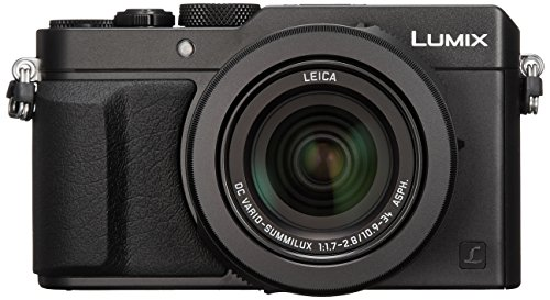 Panasonic Lumix DMC-LX100 Digital Camera, 12.8MP, 3.0-Inch Display, 24-75mm Leica DC...