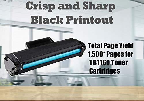 (1-Pack, Black) 4Benefit Compatible YK1PM Toner Cartridge 331-7335 (HF44N HF442) B1160 Used for Dell B1160 B1160w B1163w B1165nfw Laser Printers Photo #4
