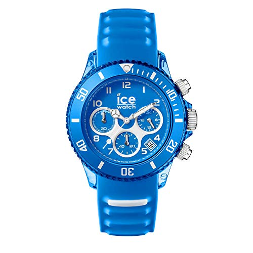 Ice-Watch - ICE aqua Skydiver - Men\'s wristwatch with silicon strap - Chrono - 012735 (Large)
