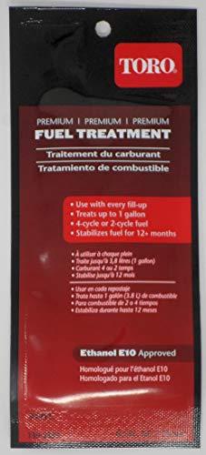 TORO 130-2393 Premium Fuel Treatment .5oz (Treats up to 1 Gallon)