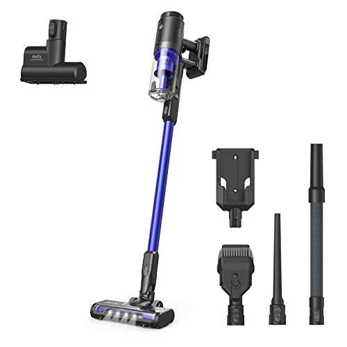 eufy by Anker, HomeVac S11 Go, kabelloser Stabstaubsauger, federleicht & kompakt, 120AW Saugkraft, Abnehmbarer Akku, ideal für Teppiche und Hartböden (Schwarz)