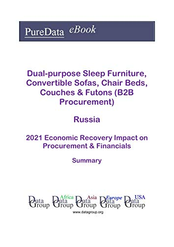 Dual-purpose Sleep Furniture, Convertible Sofas, Chair Beds, Couches & Futons (B2B Procurement) Russia Summary: 2021 Economic Recovery Impact on Revenues & Financials (English Edition)