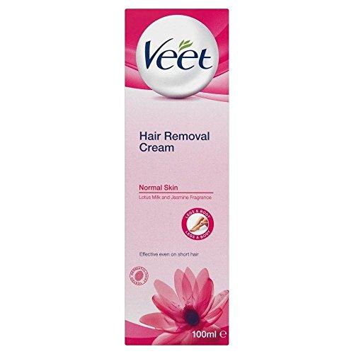 Veet Hair Removal Cream Normal Skin with Lotus Milk & Jasmine (100ml) - Pack of 2 by Veet