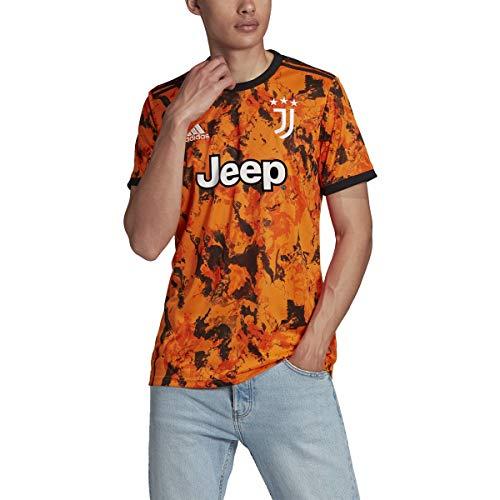 Adidas Mens Juventus 3Rd Soccer Jersey Bahiaorange S
