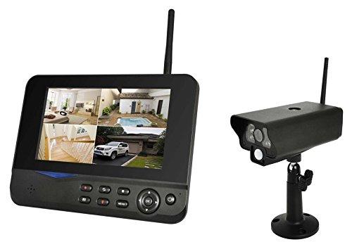 Skymaster 24031 Digitales Kamera Überwachungsset schwarz