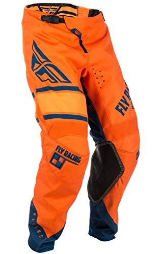 Fly Racing Kinetic Motocross Hose Era, orange-Navy, Größe: 38, MX Pant Mountainbike MTB Downhill