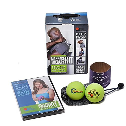 Jill Miller Yoga Tune Up Massage Therapy Full Body Kit - Therapy Balls & 2-Disc DVD by Yoga Tune Up