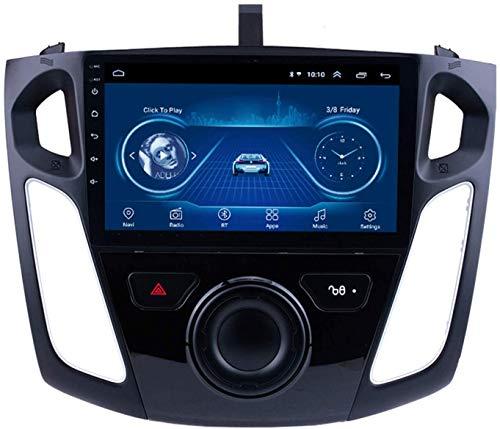 El Reproductor Multimedia De Coches GPS Es Adecuado para Ford Focus 2012-2015 Android con La Máquina Integrada De Navegación Bluetooth Toque Completo,8core 4g WiFi:2+32gb