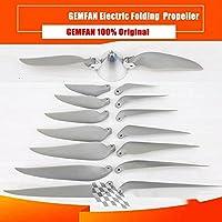 交換部品GF 電気折りたたみ小道具プロペラペア 7 × 6 7.5 × 4 8 × 5 9 × 5 10 × 6 11 × 8 12 × 8 13x8-Folding 13X8