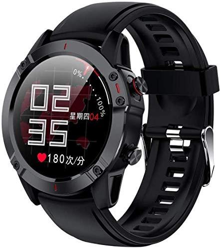 Smartwatch Smart Fitness Watch 1.3 pulgadas Full Touch Continuo Frecuencia Cardíaca Bluetooth Podómetro Pulsera para Android 4.4 y superior iOS 9.0 y superior-A