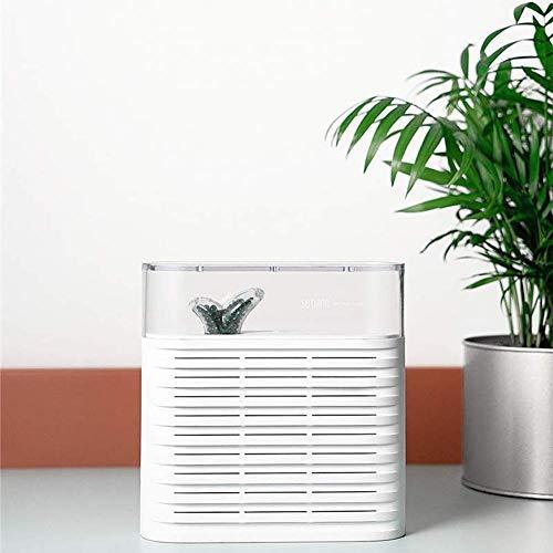 JINHH Maschinenanlagen-Ventilator, Ökologischer 150ml Tragbarer Pflanze Luftentfeuchter Wiederaufladbare Reuse Lufttrockner Feuchtigkeitsabsorbiervorrichtung Filter-Kühler Trocknung