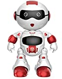 Biting Dog - robots for kids age 4 boy toys age 3 toy dogs for kids toys for smart kids robot with Radio Controller! - For Boys and Girls - Blinking Led Eyes, Dancing, Touch to Walk (Red) by Faysonite