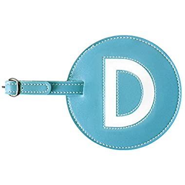 Luggage Tag Initials Pb Travel (Turquoise- D)