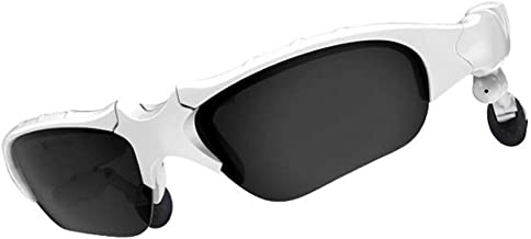 Longshow Bluetooth Sunglasses Polarized Glasses Wireless Music Sunglasses Sport Outdoor Stereo Headphones Handsfree Headset Compatible with Android Samsung Galaxy LG Smartphones Tablets iPad