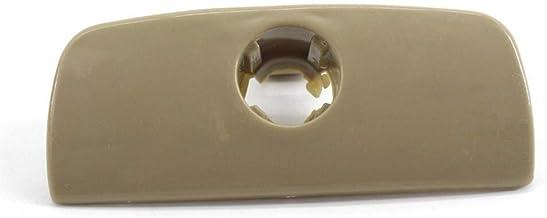 XuCesfs Handschoenendoos Opbergvak Cover Deksel Lock Klink Handvat Compatibel met VW Passat B5 (Kleur: Beige)