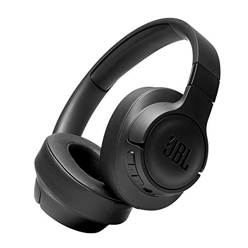 JBL Tune 750BTNC Over-Ear Wireless Active Noise-Cancelling Headphones with 15 Hours Playtime (Black)