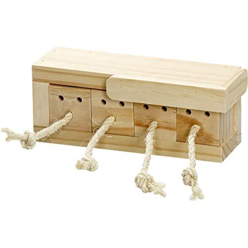 【ベルギーFLAMINGOPET】小動物用おもちゃ ベルギーFLAMINGOPET ハムスターの知育玩具 ロディブレイントレイン CUBE4ブロック