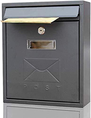 Brievenbus Letterboxen Eenvoudige brievenbus Brievenbus Buiten Wandmontage Postbus Bedrijf Suggestion Box Unit Aanbevolen Opbergdoos Kleine Postbus Beveiliging mailbox