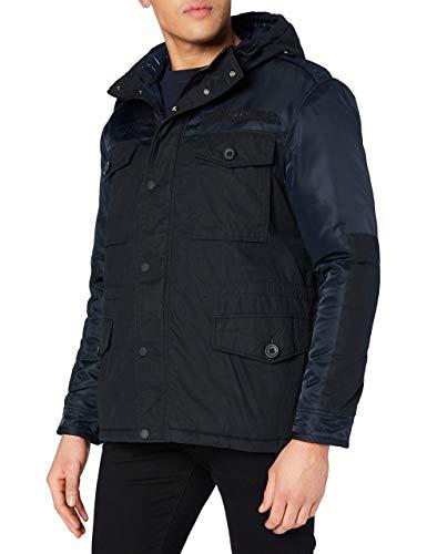 Superdry A1-Casual Jacket Chaqueta, Azul Marino, L para Hombre