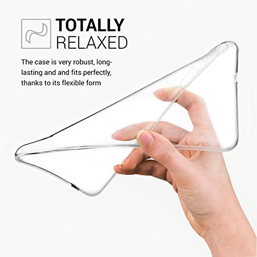 kwmobile Huawei MediaPad T1 7.0 Hülle - Silikon Tablet Cover Case Schutzhülle für Huawei MediaPad T1 7.0 - Transparent - 2