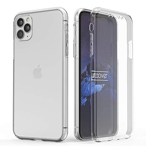 Urcover Touch Case 2.0 kompatibel mit Apple iPhone 11 Pro Max Hülle I Original berühmt durch Galileo I Hard-Edition I QI-fähig I Rundum 360° Schutzhülle I Crystal Clear Case Transparent