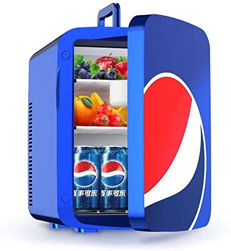 Dljyy Refrigerador del Coche Mini refrigerador doméstico de refrigeración de Doble núcleo Estudiante refrigerador refrigerador de una Sola Puerta del Dormitorio