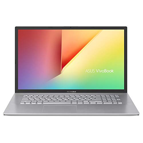 ASUS VivoBook 17 S712FA-DS76 Home and Business Laptop (Intel i7-10510U 4-Core, 8GB RAM, 256GB SSD + 1TB HDD, Intel UHD Graphics, 17.3' Full HD (1920x1080), Fingerprint, WiFi, Win 10 Home) (Renewed)