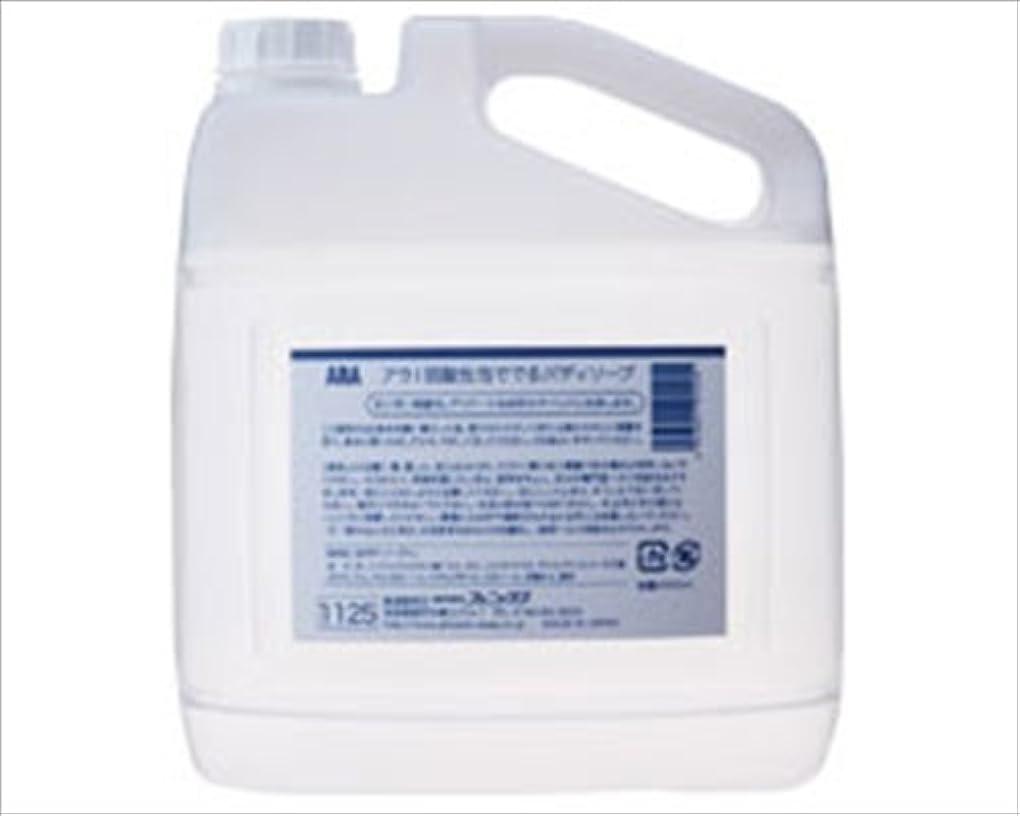 申し立て調べる繁雑弱酸性泡ででるボディソープ (アラ) 4L /7-2238-02