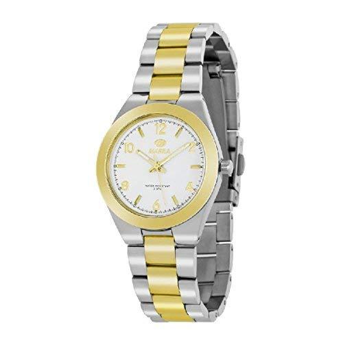 Reloj MAREA Sra Bicolor Acero Chapado B54077/2