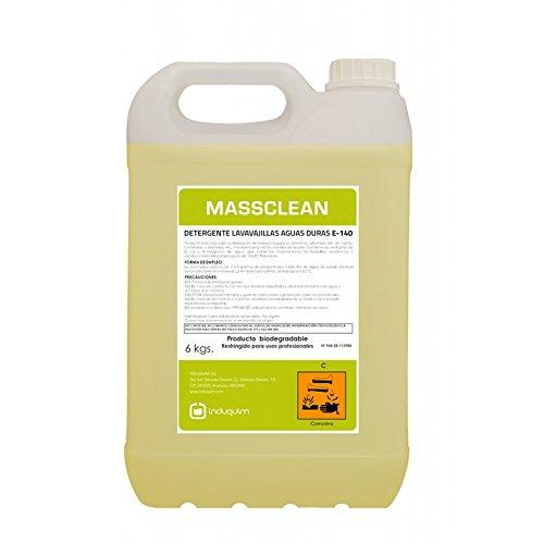 Induquim Jabón Detergente de Lavavajillas Máquina Especial Aguas Duras 6 Kg, Producto...