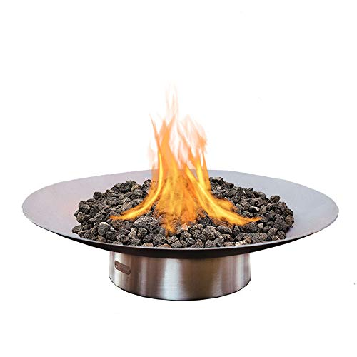 Review Of Bella Vita Fire Pit Size: 34, Ignition: Electronic, Fuel Type: Natural Gas