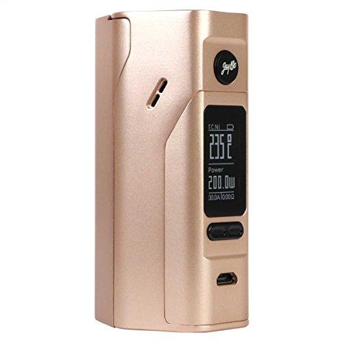 Wismec Reuleaux RX 2/3 Box MOD für 2 oder 3 Akkuzellen, 150 W oder 200 W, Riccardo e-Zigarette - Akkuträger, gold