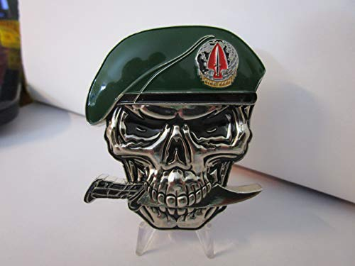 United States Army 1st Special Forces Operational Detachment-Delta Delta Force JSOC SFOD-D We Don't Exist Reaper Skull Challenge Coin