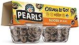 PEARLS Pearls Olives To Go! Sliced Ripe Black Olives, 24 - 1.4 oz Cups, 33.6 oz