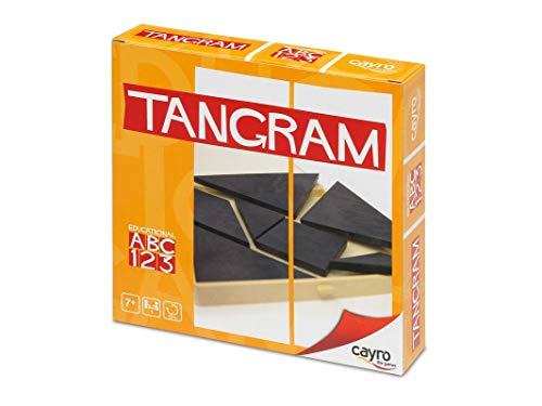 Cayro 422489 - Juego Tangram, color negro