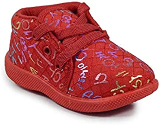 Girls Clubs Causal Booties Shoes Multicolor Age-Group 4 Months to 24 Months for Kids